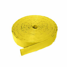 YELLOW PVC LAYFLAT HOSE - WATER DISCHARGE PUMP IRRIGATION - Sold by the Meter