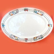 """MON JARDIN Villeroy & Boch PLATTER 17"""" long NEW NEVER USED made in Luxembourg"""