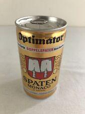 Optimator Spaten Munchen Doppelspaten Bock 12 oz Bottom Opened Pull Tab Beer Can