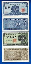 Korea South P-28 & P-29 Uncirculated Banknotes Set #1