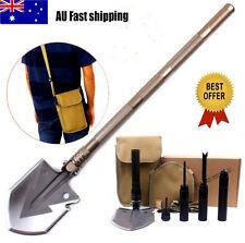 MultiFunction Shovel Hammer Snowberg camping Camp Survival Tool Portable BO