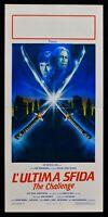 Plakat LETZTE Herausforderung Toshiro Mifune Frankenheimer Scott Glenn Samurai