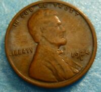 1924s Lincoln Cent  Coin  #24s better grade