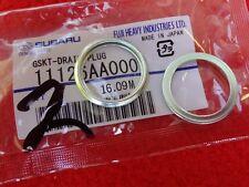 2 Subaru Oil Drain Plug Gasket WRX Impreza STi Forester XT Outback EJ Motors OEM