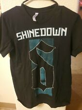 Shinedown Size S Unisex Tour 2019 Black Shirt