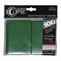 Ultra Pro Matte Deck Protector Sleeves ECLIPSE FOREST GREEN 100ct MAGIC POKEMON