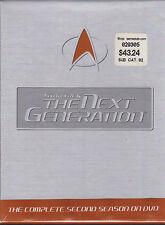 "STAR TREK ""THE NEXT GENERATION"" FACTORY SEALED BRAND NEW 6DVDS"