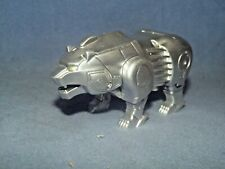 POWER RANGERS WILD FORCE ZORD  BEAR PAINTED SILVER (KONGAZORD)