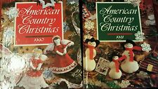 American Country Christmas 1990 & 1991