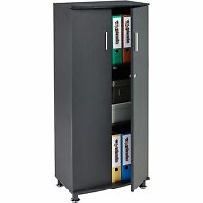 Piranha Quality Matching Tall Home Office Storage Cabinet With 3 Shelves PC 6g