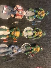 TMNT Teenage Mutant Classics Loose Set Playmates Bebop Raphael Leonardo Lot of 6