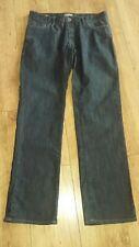 """Hugo Boss Orange Men's W36"""" L41"""" Dark Denim Jeans"""
