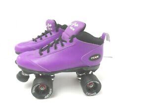 Cyclone Sure-Grip Purple Roller Skates Women's Size 10