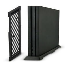 Playstation 4 vertikal Halter Stand Ständer Standfuß schwarz für PS4 Pro Fuß