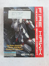 FIRE HAWK THEXDER THE SECOND CONTACT Game Arts PC Game SEALED 3.5 & 5.25 Discs