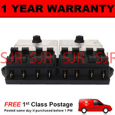 NEW 8 WAY UNIVERSAL STANDARD 12V 12 VOLT ATC BLADE FUSE BOX CLEAR CAR VEHICLE