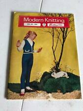 Modern Knitting Magazine by Knitmaster - March April 1964