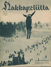 Finland Wartime Magazine Hakkapeliitta 1942 #11 - WWII