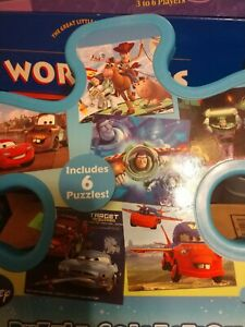 Disney 6 Puzzle Collection - Toy Story and Cars EUC