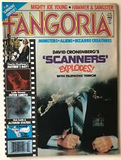 FANGORIA Magazine # 10 HORROR 1980 RARE Starlog Scanners Altered States