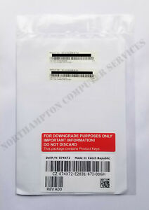 Microsoft Windows Server 2012 / 2008 / R2 Standard Downgrade Kit 074X72 -VAT