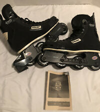 Bauer Pro Roller Hockey Skates Blades Size 10 Off Ice Hockey Classic Excellent
