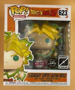 Funko Pop Legendary Super Saiyan Broly Glow CHASE #623 Dragon Ball Z