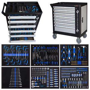XXXL Werkstattwagen gefüllt Werkzeugwagen Werkzeugschrank Werkzeugkasten NEU