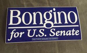 "Unused ""Bongino for Senate"" Bumper Sticker - Maryland"