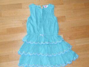 Mini Boden, Kleid, Sommerkleid, 134, grün, TOP