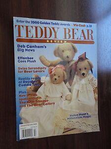 Teddy Bear Review Magazine Back Issue Jan / Feb 2000 Deb Canham Effanbee Douglas