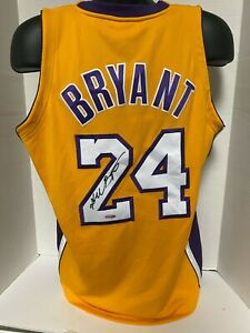 KOBE BRYANT Autographed Los Angeles Lakers Jersey UDA