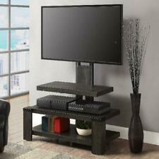 Whalen 3-Shelf Television Stand w/ Floater Mount