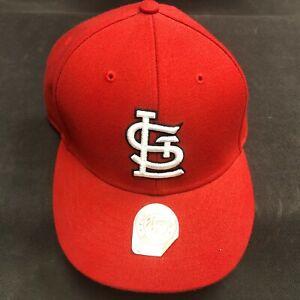47 MLB St. Louis Cardinals Adjustable Hook-and-Loop Hat Cap NEW