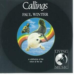 CD album paul winter - callings - celebration of voices of the sea