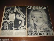 RIVISTA CRONACA=1966/17=COVER EVI MARANDI=DELITTO SPARANISE=CUFFIANO=BITONTO BA=