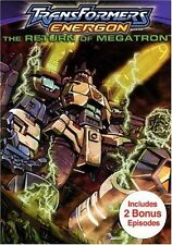 Transformers Energon - The Return of Megatron (DVD, 2004)  Animated