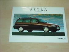 36337) Opel Astra GL Kombi Polen Prospekt 199?