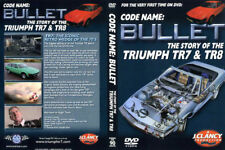 TRIUMPH TR7 & TR8 Story DVD - Bullet  by J Clancy NEW
