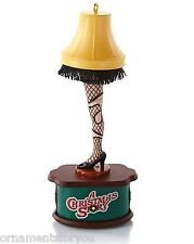 Hallmark 2013 A Major Accident A Christmas Story Magic Leg Lamp Ornament