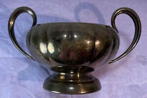 Offer Days 🤗Vintage Primrose Plate EP Copper B.M. Mount Sugar Bowl #0126