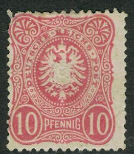 GERMANY 1880 - 83 10Pf RED EAGLE