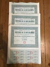 20 x PAPETERIES de la HAYE-DESCARTES (BALESMES 37) for 1€ ?
