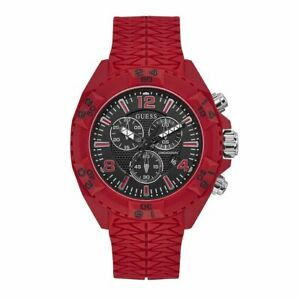 Guess Thor Men's Chronograph Watch Red
