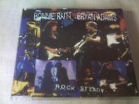BRYAN ADAMS / BONNIE RAITT - ROCK STEADY - UK PROMO CD SINGLE