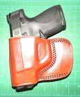 Tagua BSH-153 LH Brown Leather Belt Slide Holster for Taurus Slim 709 S&W Shield