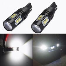 2Pcs 50W  921 906 912 T10 T15 LED 6000K HID White Backup Reverse Lights Bulb