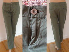 Element for Life Hose Sommerhose Girl Chinos Casual Style olivgrün Gr 28 Top