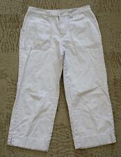 Cherokee Capri Cropped Pants size 8 - khaki