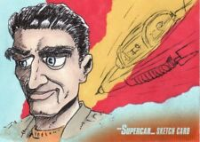Gerry Anderson's Supercar Mike Hannan Sketch Card